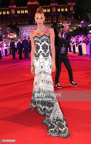 Carmen Carrera attends the Life Ball 2014 at City Hall on May 31 2014 in Vienna Austria