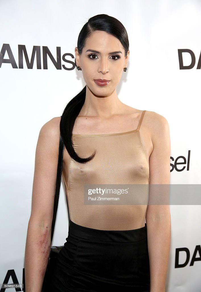 Carmen Carrera attends the Presentation - Fall 2016 New York Fashion Week at Openhouse Gallery on February 12, 2016 in New York City.