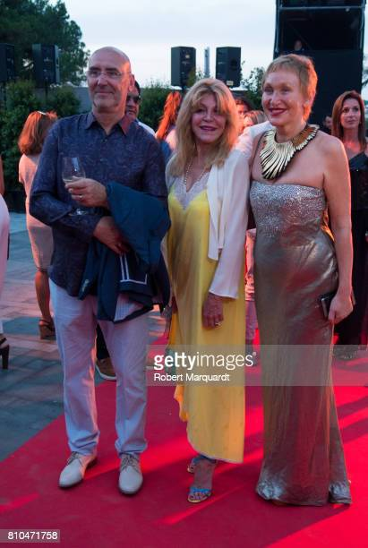 Carmen Cervera attends the opening of Hotel Alabriga on July 7 2017 in Girona Spain