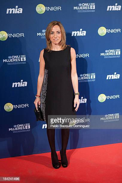 Carmen Chacon attends 'Cuida De Ti' 2012 Awards at Casa de America on October 16 2012 in Madrid Spain
