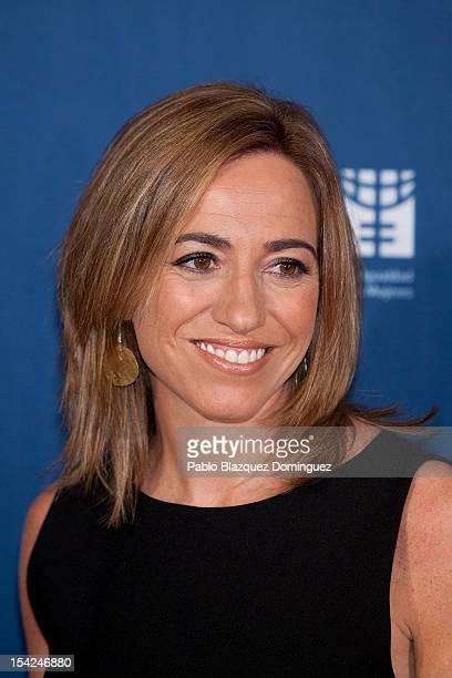 Carmen Chacon attends 'Cuida De Ti' 2012 Awards at Casa de America on October 16 2012 in Madrid Spain