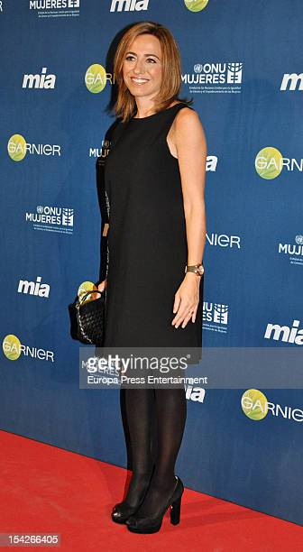 Carmen Chacon attends 'Cuida De Ti' 2012 Awards on October 16 2012 in Madrid Spain