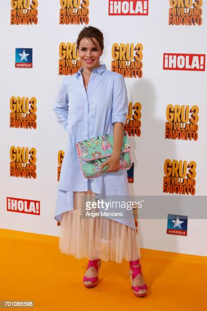 Carmen Chaparro attends the 'Despicable Me 3' premiere at Kinepolis cinema on June 22 2017 in Madrid SPAIN