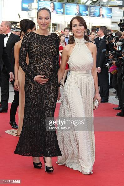 Carmen Chaplin and Dolores Chaplin attend the 'Madagascar 3 Europe's Most Wanted' Premiere during the 65th Annual Cannes Film Festival at Palais des...