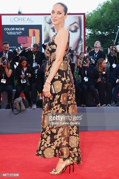 Carmen Chaplin attends a premiere for 'A Bigger Splash' during the 72nd Venice Film Festival at on September 6 2015 in Venice Italy