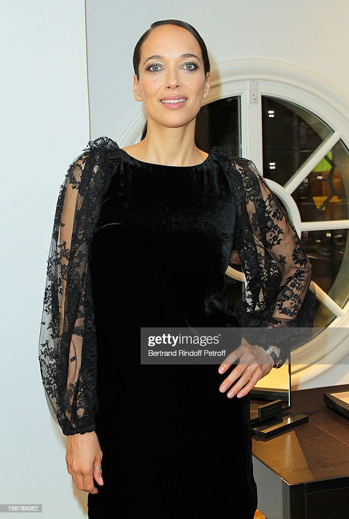 Carmen Chaplin attends Jaeger-LeCoultre Place Vendome Boutique Opening at Jaeger-LeCoultre Boutique on November 20, 2012 in Paris, France.