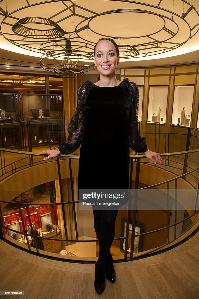 Carmen Chaplin attends Jaeger-LeCoultre Vendome Boutique Opening at Jaeger-LeCoultre Boutique on November 20, 2012 in Paris, France.