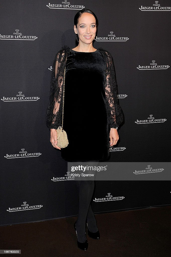 Carmen Chaplin attends the Jaeger-LeCoultre Place Vendome Boutique Opening at Jaeger-LeCoultre Boutique on November 20, 2012 in Paris.