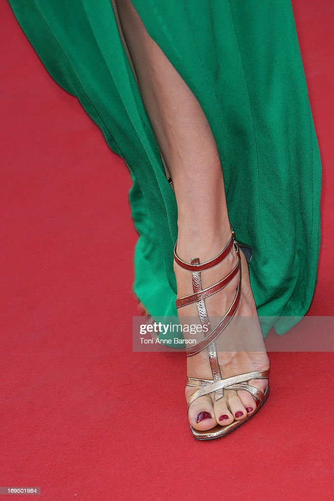Carmen Chaplin attends the Premiere of 'La Venus A La Fourrure' at The 66th Annual Cannes Film Festival on May 25, 2013 in Cannes, France.
