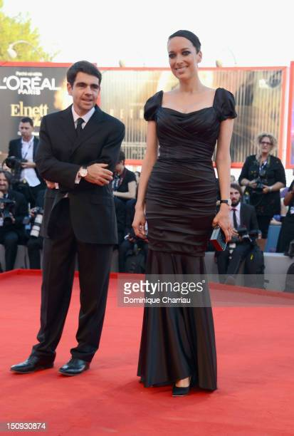 Carmen Chaplin attends The Reluctant Fundamentalist premiere and opening ceremony during the 69th Venice Film Festival at the Palazzo del Cinema on...