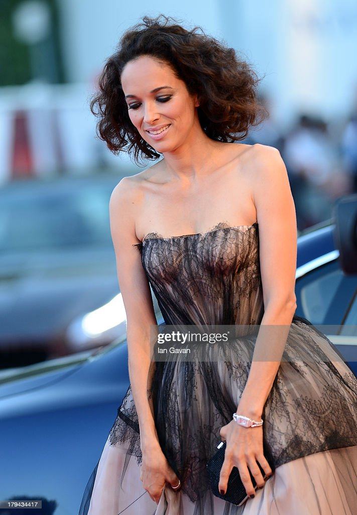 Carmen Chaplin wears a Jaeger lecoultre Reverso Cordonnet Duetto watch at the 'Under The Skin' Premiere during the 70th Venice Film Festival at the Palazzo del Cinema on September 3, 2013 in Venice, Italy.