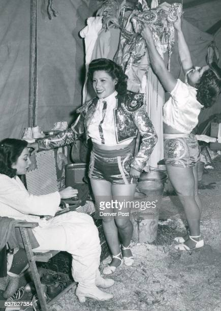 Carmen Condillo Marguerite Condillo Gloria Condillo Dressing room Scene Credit The Denver Post