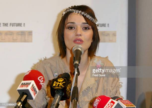 Carmen Consoli during 'We Are The Future' Charity Concert Photocall at Circus Maximus in Rome Italy