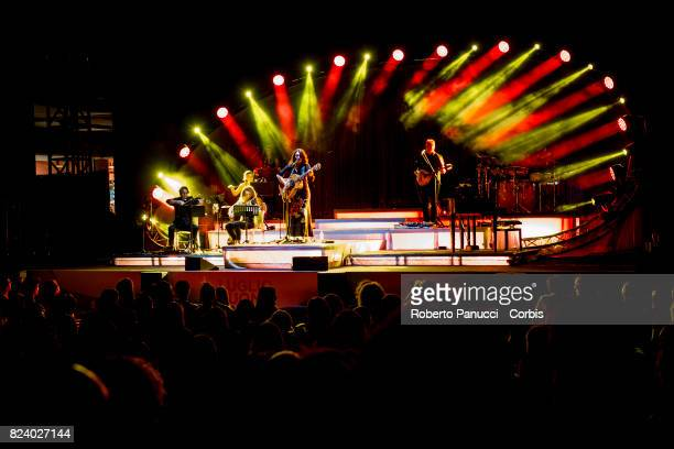 Carmen Consoli performs in concert at Auditorium Parco della Musica on July 27 2017 in Rome Italy