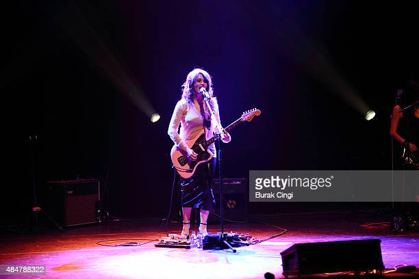Carmen Consoli performs live on stage at the Royal Festival Hall on August 21 2015 in London England