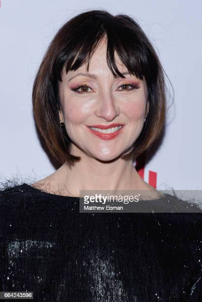 Carmen Cusack attends Miscast 2017 at Hammerstein Ballroom on April 3 2017 in New York City
