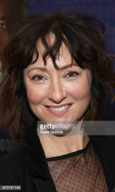Carmen Cusack attends the Broadway Opening Night of 'Lillian Helman's The Little Foxes' at the Samuel J Friedman Theatre on April 19 2017 in New York...