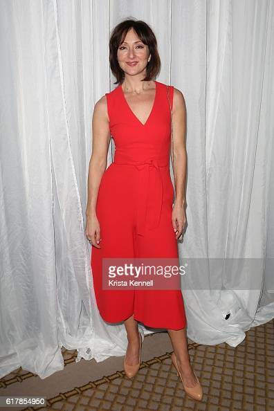 Carmen Cusack attends the New York City Center Galaat The Plaza Hotel on October 24 2016 in New York City