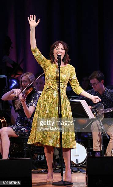 Carmen Cusack on stage during 'Bright Star' In Concert at Town Hall on December 12 2016 in New York City