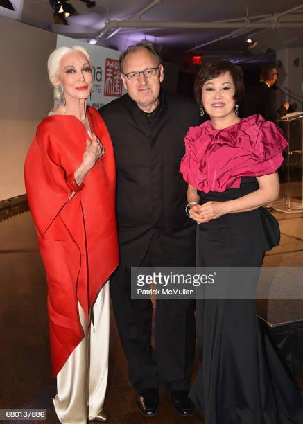 Carmen Dell'Orefice Fadil Berisha and YueSai Kan attend the China Fashion Gala 2017 by China Institute and China Beauty Charity Fund at Tribeca 360...