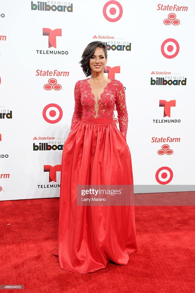 Carmen Domicci attends the 2014 Billboard Latin Music Awards at Bank United Center on April 24, 2014 in Miami, Florida.