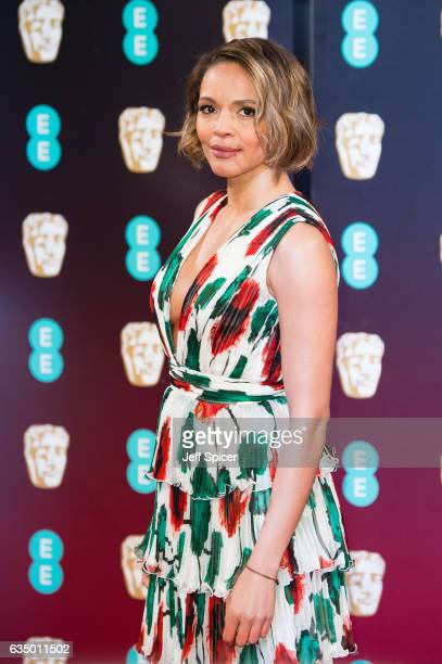 Carmen Ejogo attends the 70th EE British Academy Film Awards at Royal Albert Hall on February 12 2017 in London England