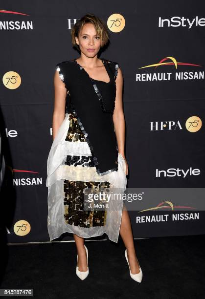 Carmen Ejogo attends The Hollywood Foreign Press Association and InStyle's annual celebrations of the 2017 Toronto International Film Festival at...
