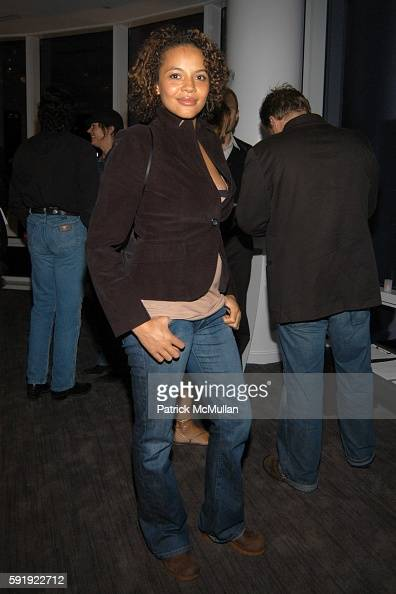 Carmen EjogoWright attends Oxfam America Charity Event at 'Esquire Downtown' at Astor Place at Esquire Downtown at Astor Place on October 7 2005 in...