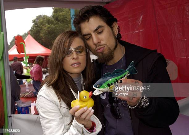 Carmen Electra and Dave Navarro at The Target A Time for Heroes Celebrity Carnival Benefitting the Elizabeth Glaser Pediatric AIDS Foundation