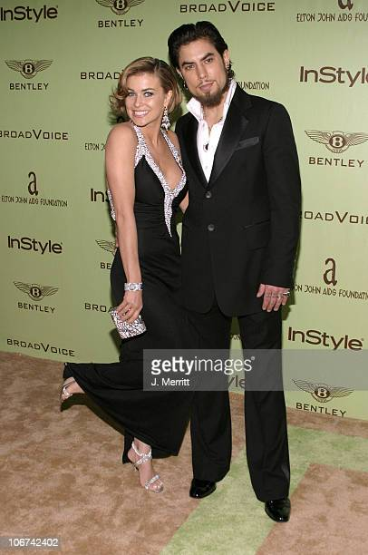 Carmen Electra and Dave Navarro during Elton John AIDS Foundation's 12th Annual Oscar party cohosted by In Style Arrivals at Pearl in West Hollywood...