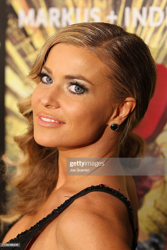 <a gi-track='captionPersonalityLinkClicked' href=/galleries/search?phrase=Carmen+Electra&family=editorial&specificpeople=171242 ng-click='$event.stopPropagation()'>Carmen Electra</a> arrives at Markus + Indrani Icons book launch party hosted by <a gi-track='captionPersonalityLinkClicked' href=/galleries/search?phrase=Carmen+Electra&family=editorial&specificpeople=171242 ng-click='$event.stopPropagation()'>Carmen Electra</a> benefiting The Trevor Project at Merry Karnowsky Gallery & Graffiti on January 10, 2013 in Los Angeles, California.