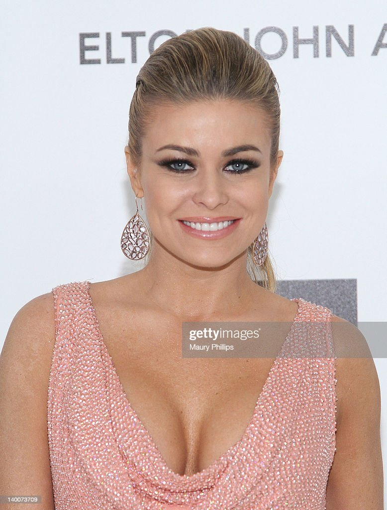 <a gi-track='captionPersonalityLinkClicked' href=/galleries/search?phrase=Carmen+Electra&family=editorial&specificpeople=171242 ng-click='$event.stopPropagation()'>Carmen Electra</a> arrives at the 20th Annual Elton John AIDS Foundation Academy Awards Viewing Party at Pacific Design Center on February 26, 2012 in West Hollywood, California.