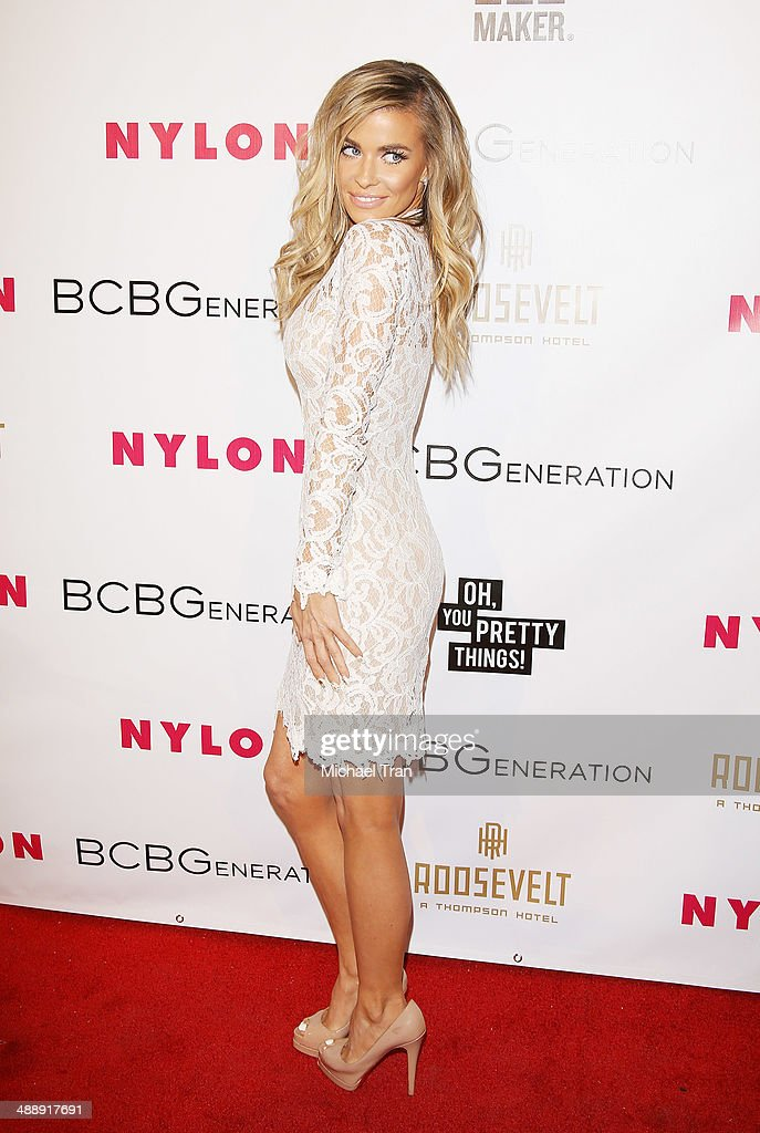 <a gi-track='captionPersonalityLinkClicked' href=/galleries/search?phrase=Carmen+Electra&family=editorial&specificpeople=171242 ng-click='$event.stopPropagation()'>Carmen Electra</a> arrives at the Nylon Magazine May Young Hollywood Issue Party held at Tropicana Bar at The Hollywood Rooselvelt Hotel on May 8, 2014 in Hollywood, California.