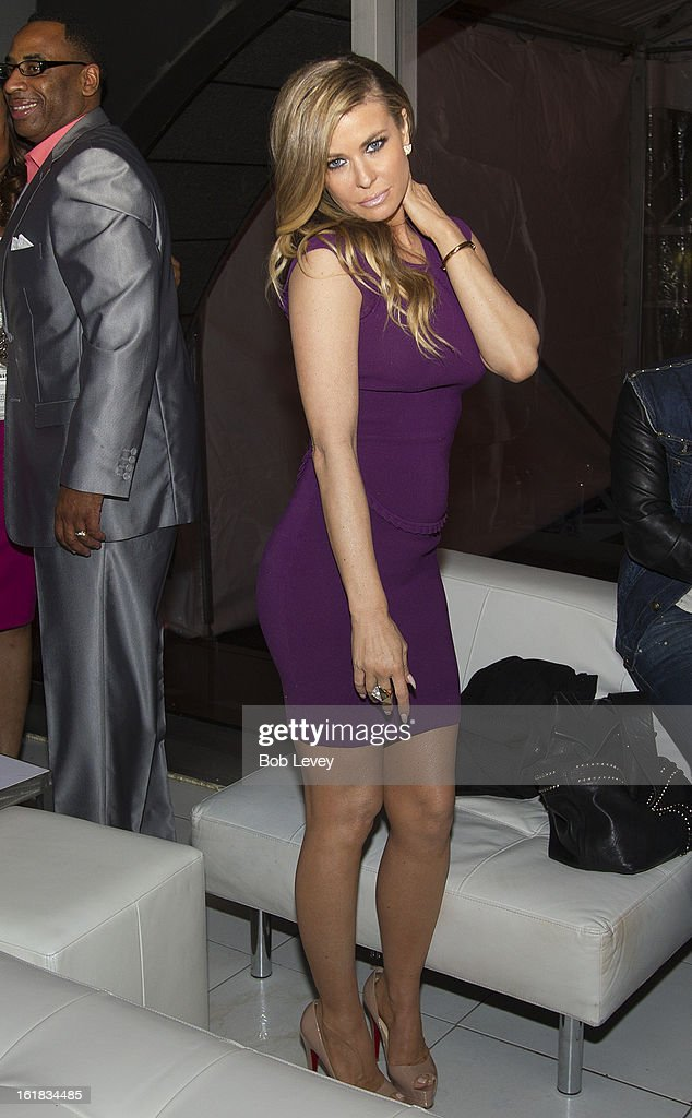 Carmen Electra at Beverly Hills Sports And Entertainment Group Present The Event: Steel Toes And Stilettos Party at The Phantom on February 16, 2013 in Houston, Texas.