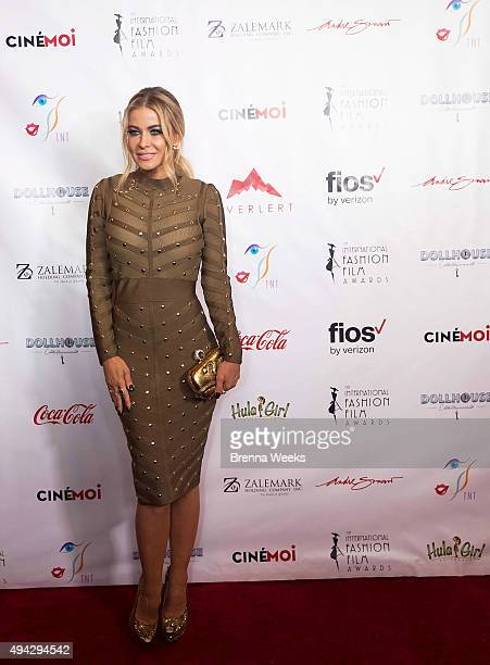 Carmen Electra attends the 2015 International Fashion Film Awards at Saban Theatre on October 25 2015 in Beverly Hills California