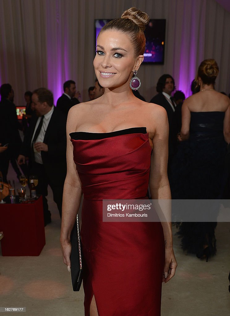 Carmen Electra attends the 21st Annual Elton John AIDS Foundation Academy Awards Viewing Party at West Hollywood Park on February 24, 2013 in West Hollywood, California.
