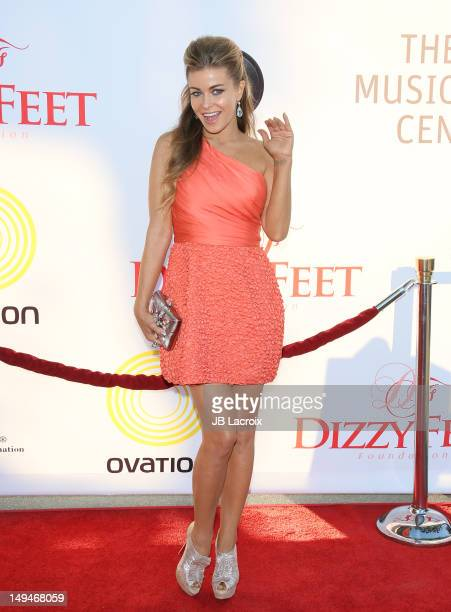 Carmen Electra attends the Dizzy Feet Foundation Second 'Celebration of Dance' Gala at Dorothy Chandler Pavilion on July 28 2012 in Los Angeles...