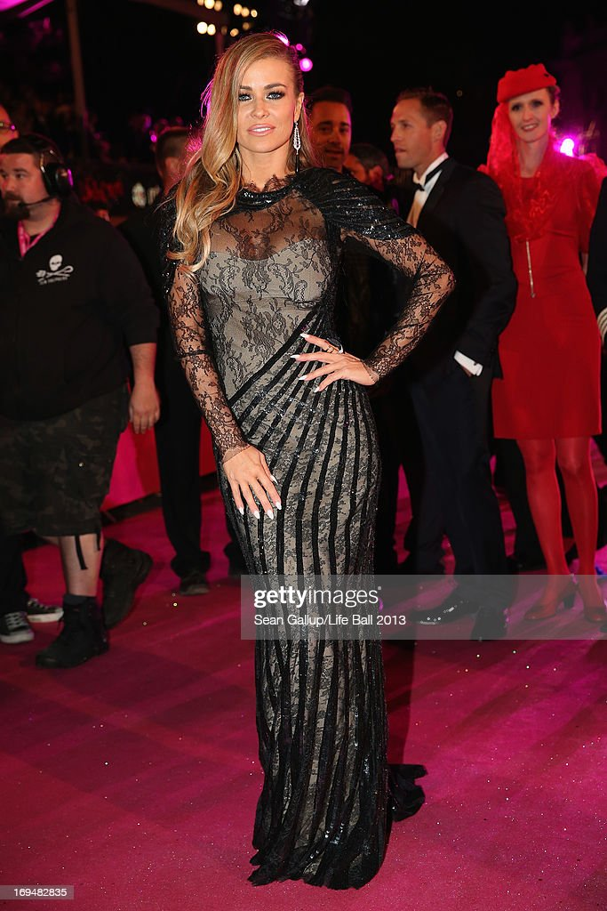 Carmen Electra attends the 'Life Ball 2013 - Magenta Carpet Arrivals' at City Hall on May 25, 2013 in Vienna, Austria.