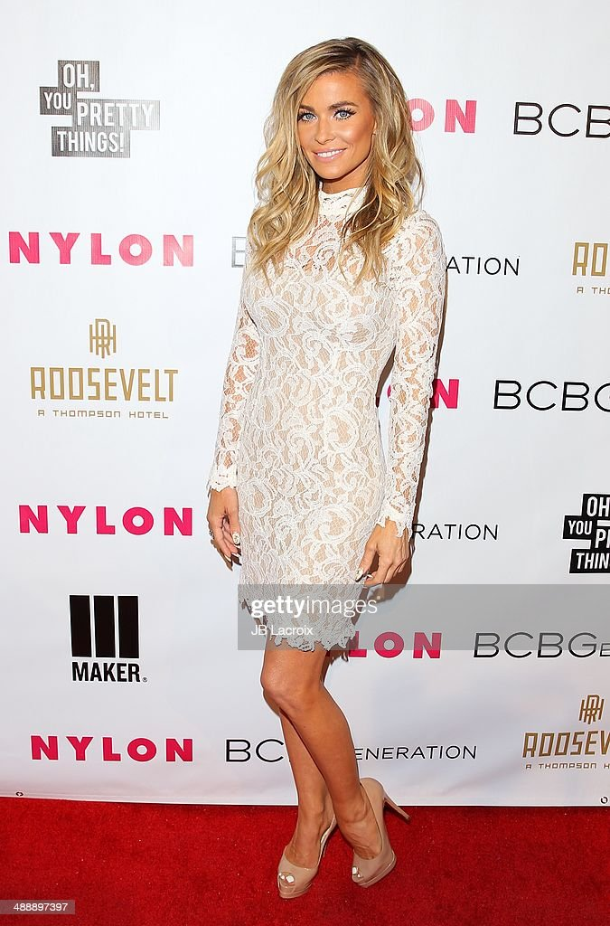 Carmen Electra attends the Nylon Magazine May Young Hollywood Issue Party on May 8, 2014 in Hollywood, California.