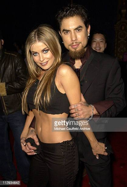 Carmen Electra Dave Navarro during Maxim Magazine Heats Up Los Angeles with the Pussycat Dolls Inside and Performance at Henry Fonda Theatre in Los...