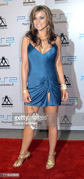 Carmen Electra during 2003 MTV Video Music Awards Playstation 2 and Guy Oseary After Party at The Four Seasons Restaurant in New York City New York...