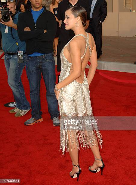 Carmen Electra during 2006 American Music Awards Arrivals at Shrine Auditorium in Los Angeles California United States