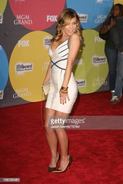 Carmen Electra during 2006 Billboard Music Awards Arrivals at MGM Grand Hotel Casino in Las Vegas Nevada United States