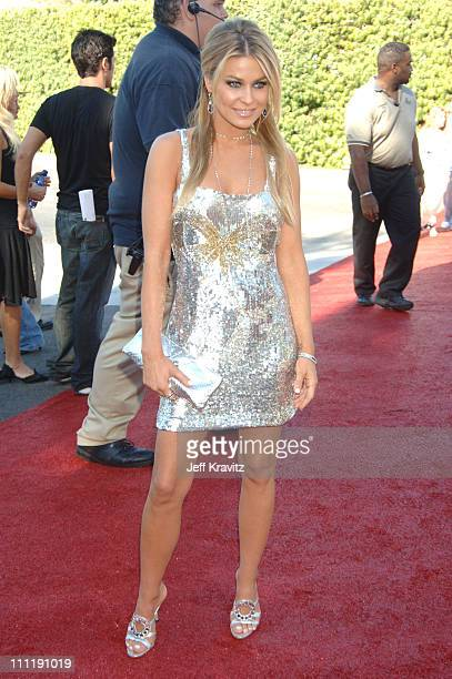 Carmen Electra during 2006 Teen Choice Awards Arrivals at Gibson Amphitheatre in Universal City California United States
