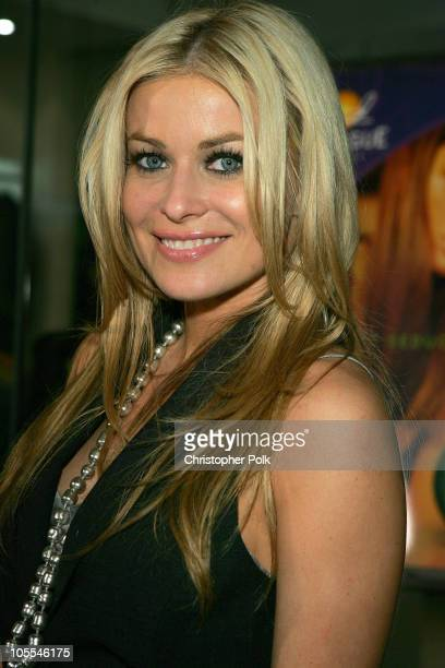Carmen Electra during Book Party for 'Hollywood Hussein' by Us Weekly's Ken Baker at Kitson in Hollywood California United States