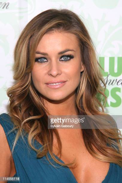 Carmen Electra during Carmen Electra Unveils the New 'Absolute Pears' January 24 2007 at The Box at 189 Chrystie Street in New York City New York...