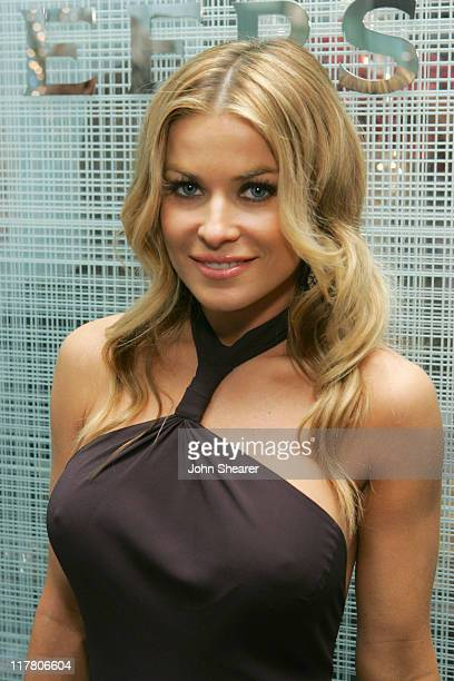 Carmen Electra during De Beers Hosts 'Gift to Give' Benefiting The Nelson Mandela Children's Fund at De Beers in Beverly Hills California United...