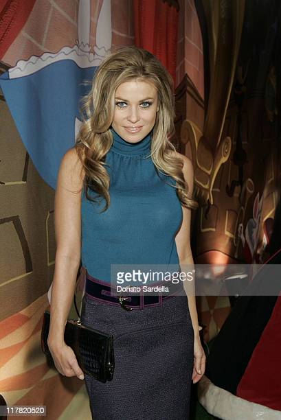 Carmen Electra during Disney's Alice in Wonderland Mad Tea Party at Private Residence in Los Angeles California United States