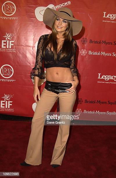 Carmen Electra during First Annual Entertainment Industry Foundation 'Love Rocks' Concert to Honor U2's Bono and Launch EIF'S National Cardiovascular...