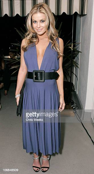 Carmen Electra during Leslie Gardner's Smashing Grandpa Launches New Designs Inspired by 'I'm with the Band Confessions of a Groupie' by Pamela Des...